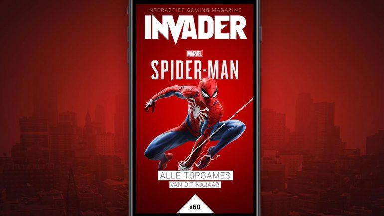 Invader spider-man cover