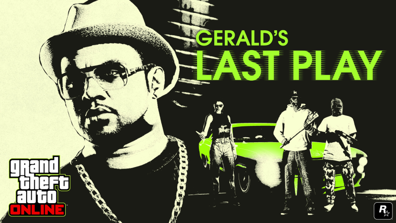 gerald's last play