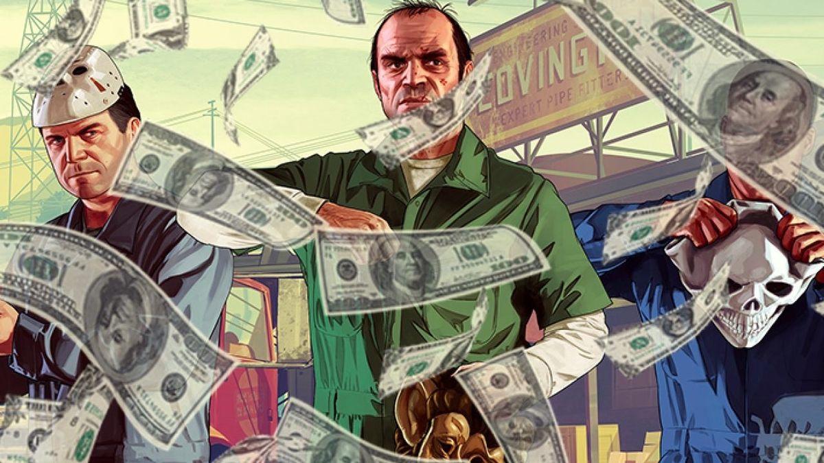 GTA V dollar