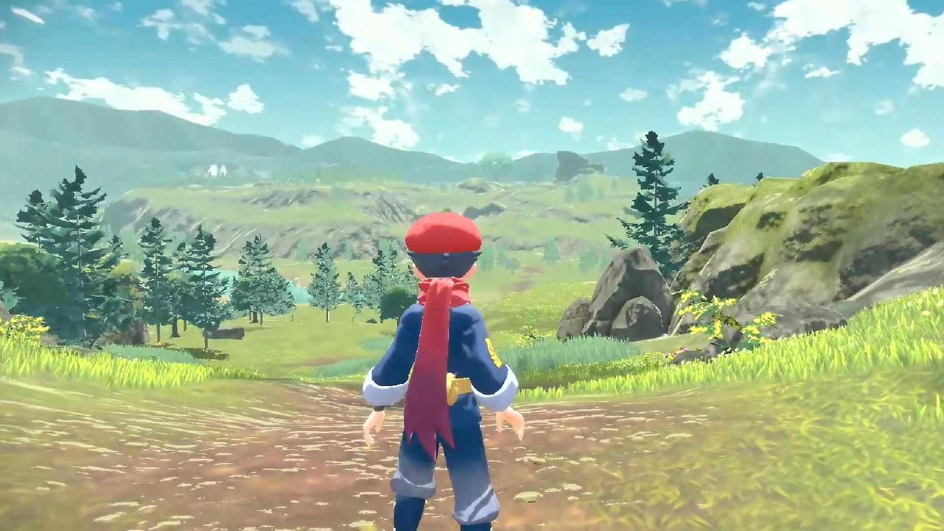 pokemon legends arceus open world
