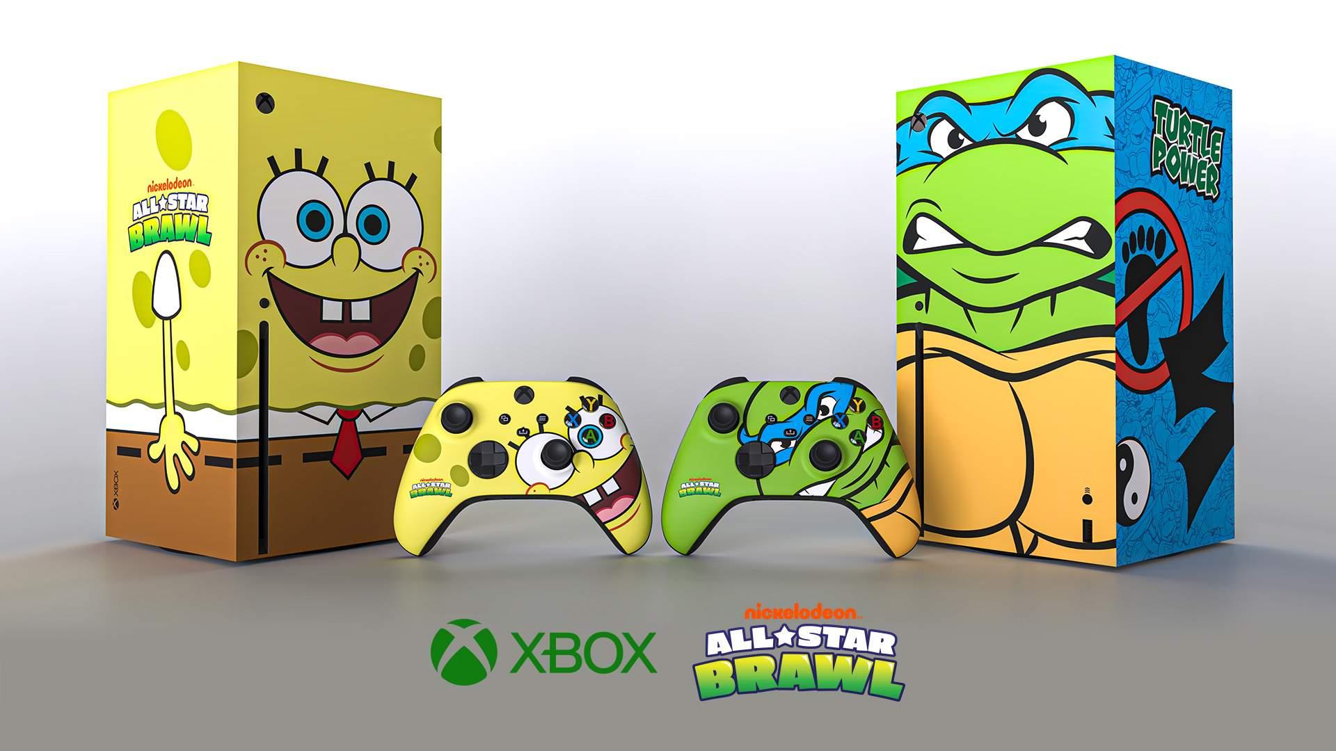 New Sponge bob and TMNT render Final